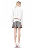 ALEXANDER WANG IRREGULAR PLEAT SKIRT SKIRT Adult 8_n_r