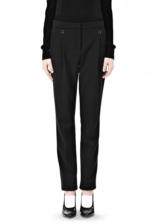 ALEXANDER WANG LOW WAISTED TROUSER PANTS Adult 12_n_d