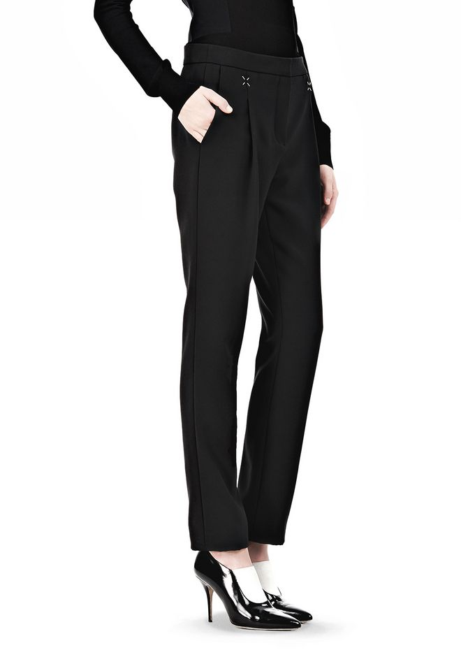 ALEXANDER WANG LOW WAISTED TROUSER PANTS Adult 12_n_e