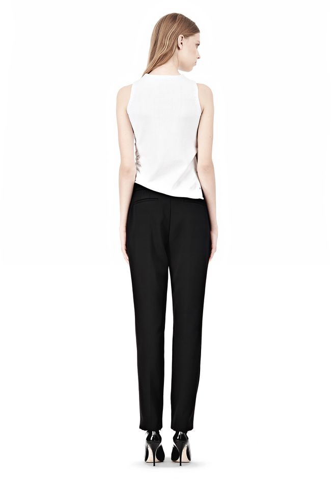 ALEXANDER WANG LOW WAISTED TROUSER PANTS Adult 12_n_r