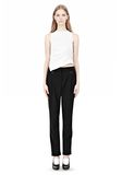 ALEXANDER WANG LOW WAISTED TROUSER PANTS Adult 8_n_f