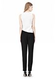 ALEXANDER WANG LOW WAISTED TROUSER PANTS Adult 8_n_r