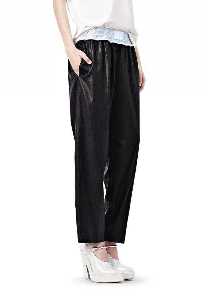 TRACK PANT WITH BOXER SHORT WAISTBAND