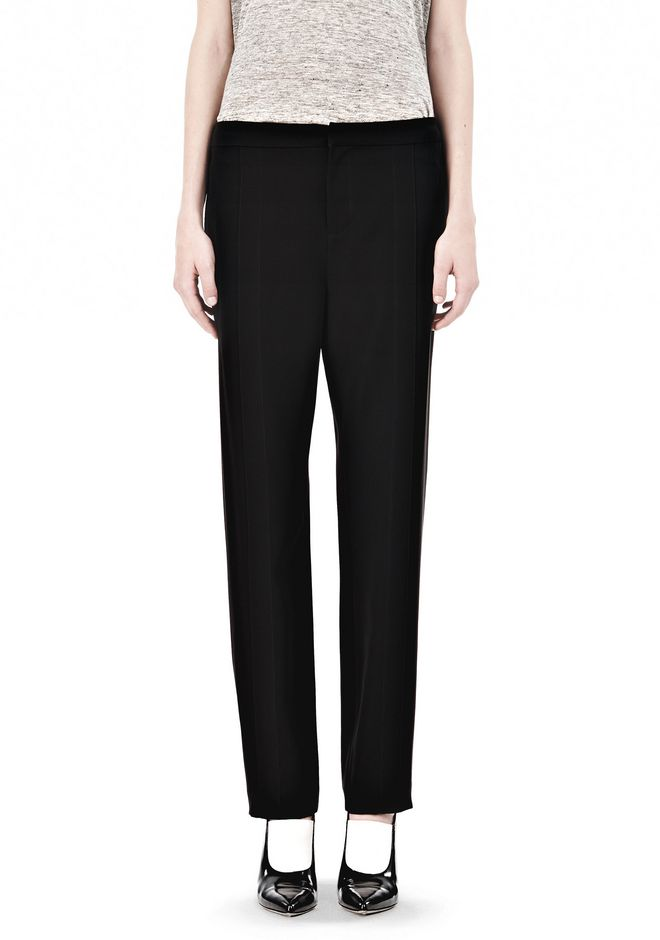 DRAPED SUITING  FRONT TROUSERS