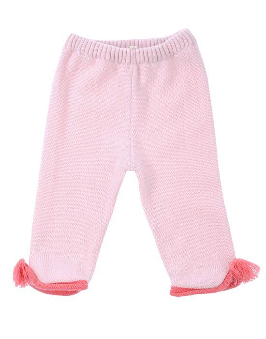 Повседневные брюки CASHMIRINO. Цвет: розовый