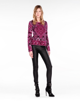 EMILIO PUCCI - Leather pants