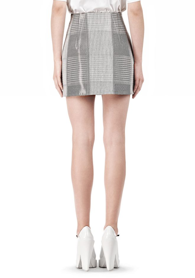 ALEXANDER WANG MINISKIRT WITH DART DETAIL SKIRT Adult 12_n_a