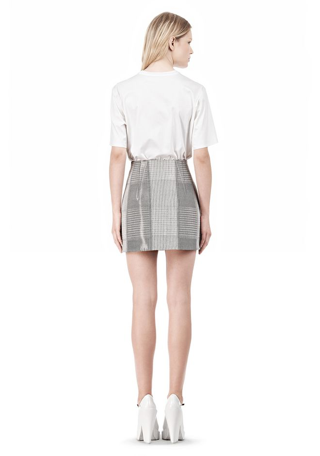 ALEXANDER WANG MINISKIRT WITH DART DETAIL SKIRT Adult 12_n_r