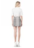 ALEXANDER WANG MINISKIRT WITH DART DETAIL SKIRT Adult 8_n_r