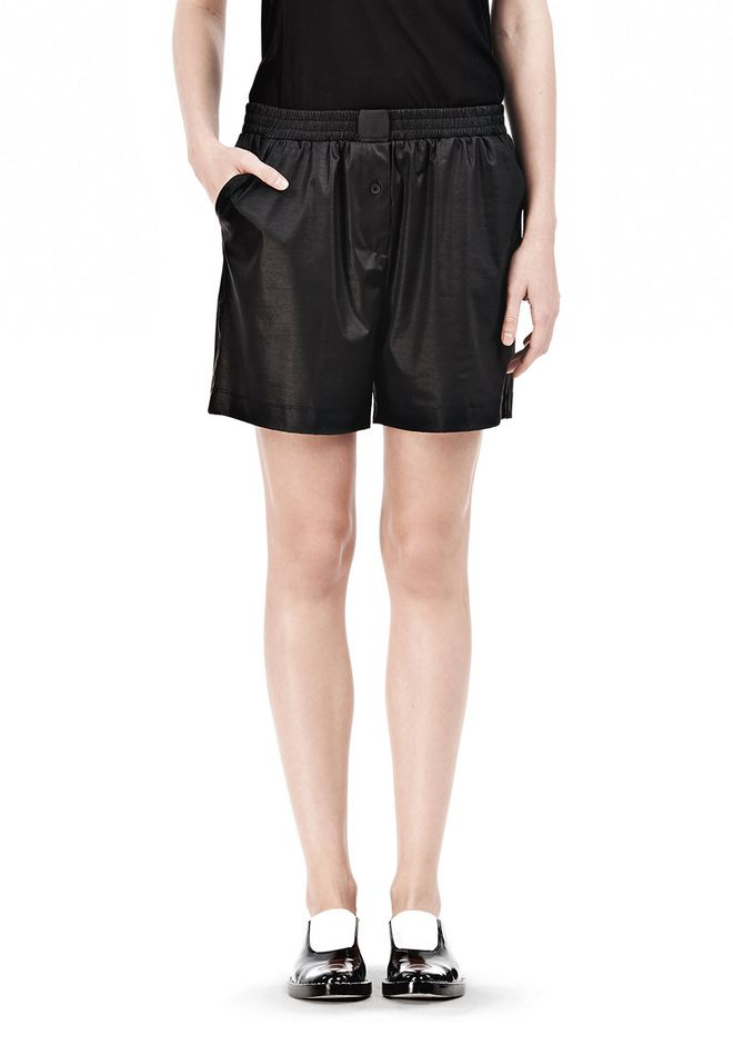 T by ALEXANDER WANG CHINTZ COTTON JERSEY BOXER SHORTS SHORTS Adult 12_n_d