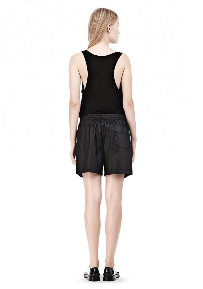 T by ALEXANDER WANG CHINTZ COTTON JERSEY BOXER SHORTS SHORTS Adult 12_n_r
