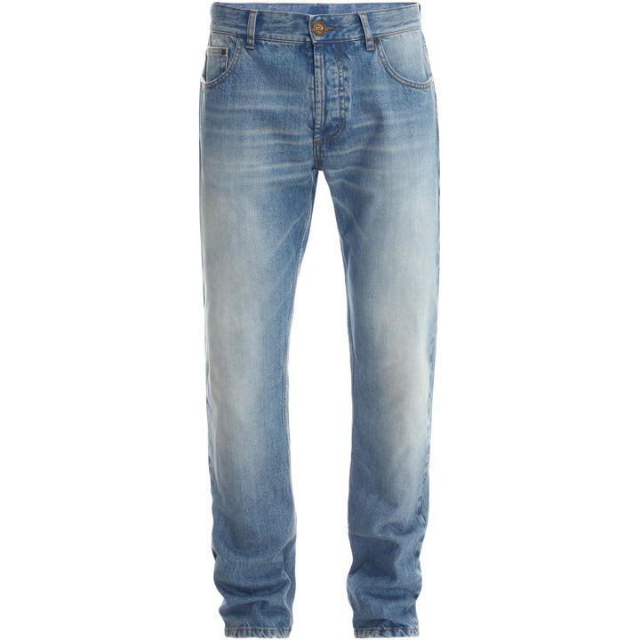 Alexander McQueen, Stonewash Denim Jeans