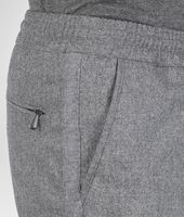 New Light Grey Melange Reagle Flannel Pant