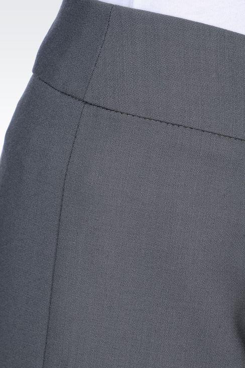 CLASSIC WOOL TROUSERS: Straight leg pants Women by Armani - 5