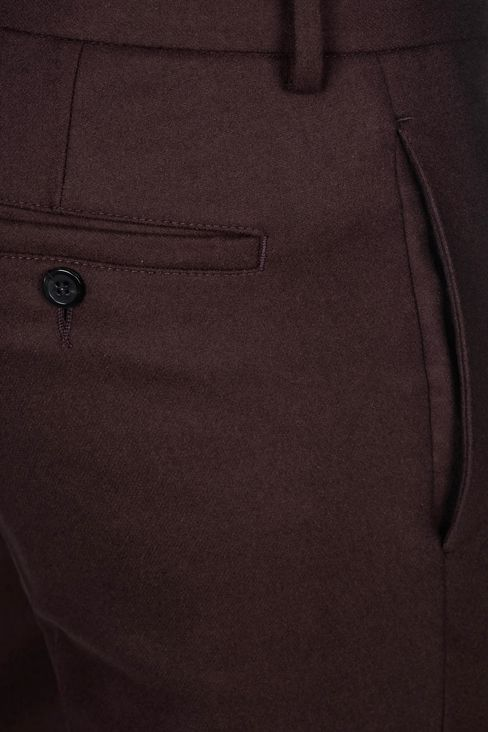 TROUSERS IN LIGHT BROADCLOTH: Chinos Men by Armani - 5
