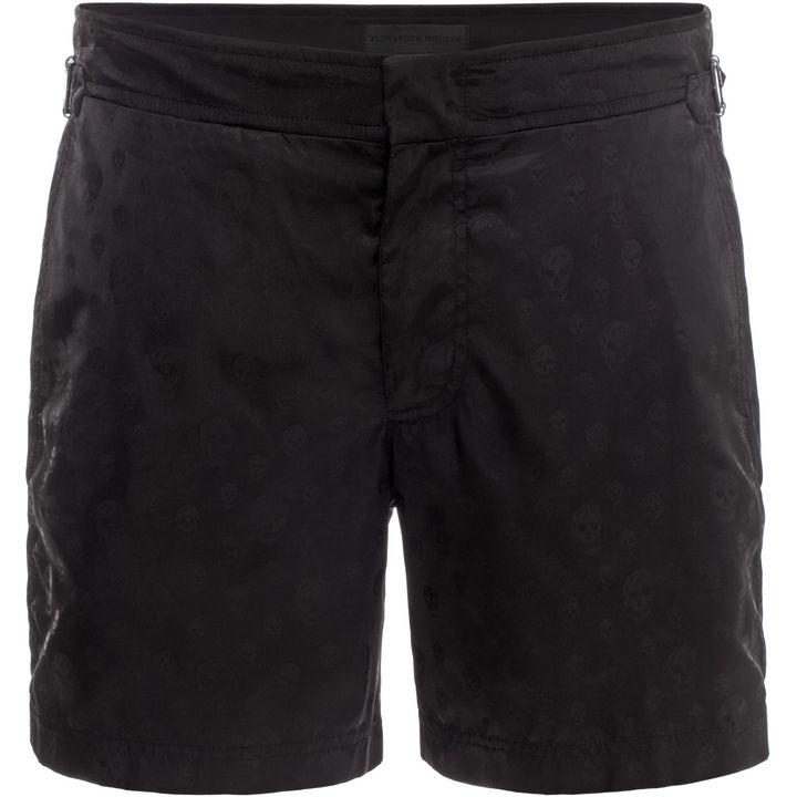 Alexander McQueen, Skull Jacquard Swim Shorts