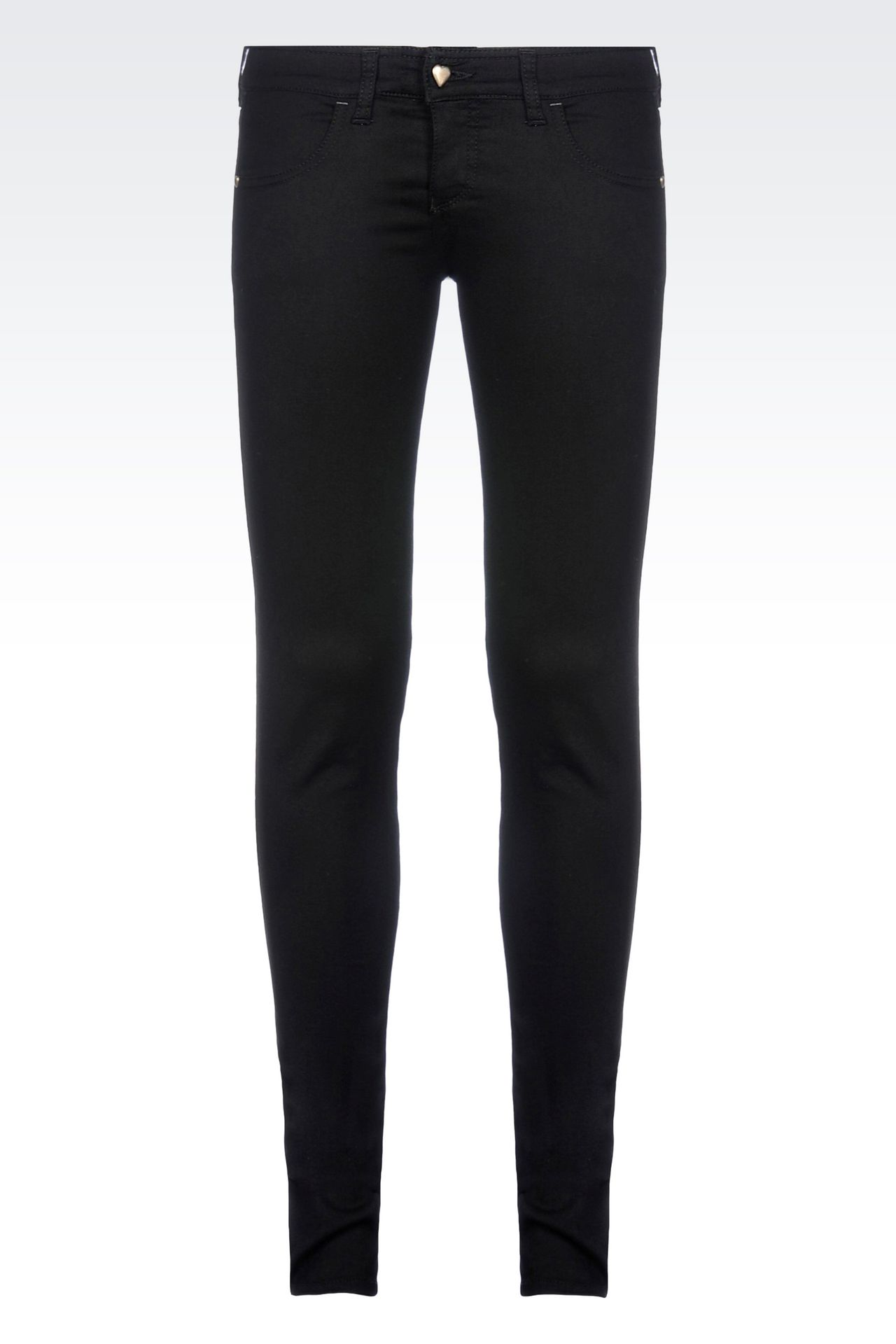 BLACK WASH JEGGINGS : 5 pockets Women by Armani - 0