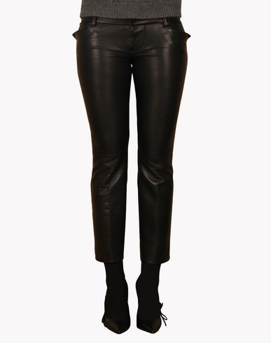 DSQUARED2 - Leather trousers