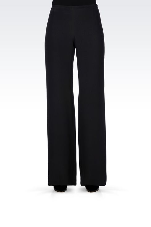 PALAZZO PANTS IN CADY: Wide-leg trousers Women by Armani - 3