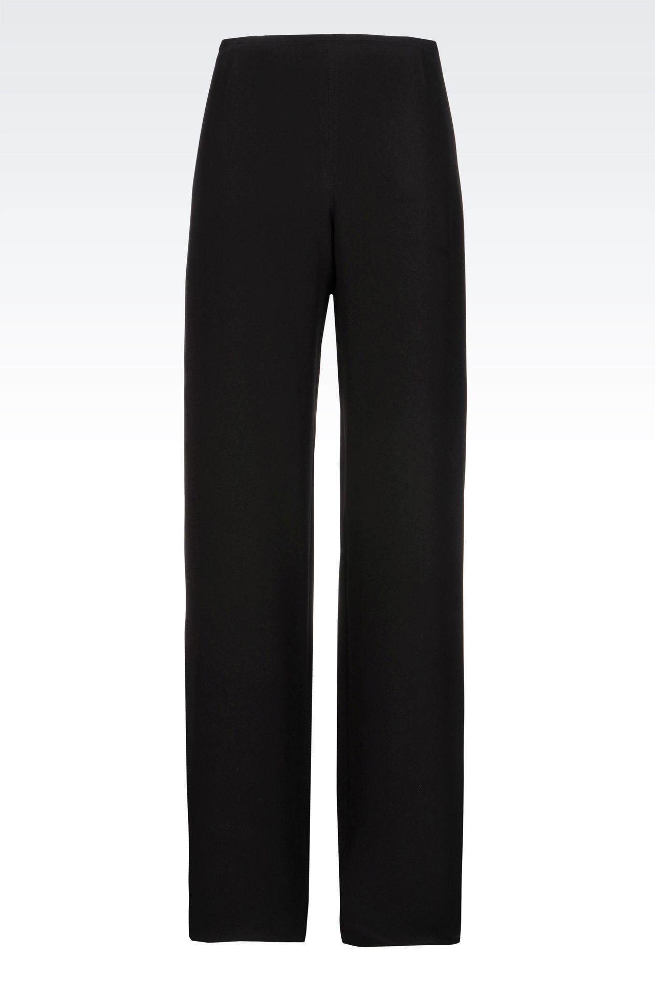PALAZZO PANTS IN CADY: Wide-leg trousers Women by Armani - 0