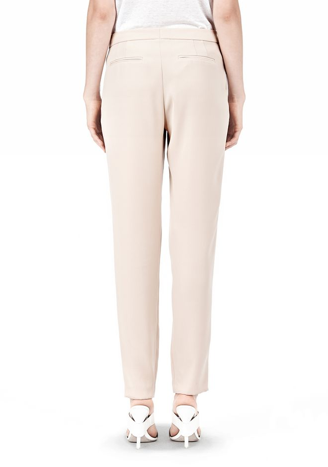 T by ALEXANDER WANG DRAPE SUITING TAPPERED TROUSERS PANTS Adult 12_n_a