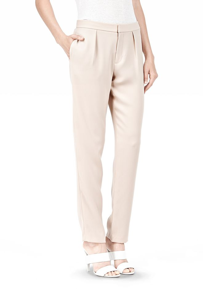 DRAPE SUITING TAPPERED TROUSERS