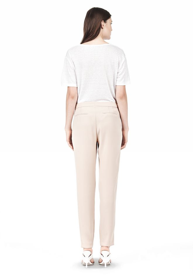 T by ALEXANDER WANG DRAPE SUITING TAPPERED TROUSERS PANTS Adult 12_n_r