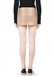ALEXANDER WANG MICRO MINI SKIRT WITH EXPOSED DART SKIRT Adult 8_n_d