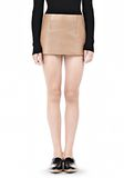 ALEXANDER WANG MICRO MINI SKIRT WITH EXPOSED DART SKIRT Adult 8_n_e
