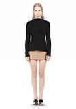 ALEXANDER WANG MICRO MINI SKIRT WITH EXPOSED DART SKIRT Adult 8_n_f