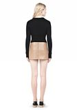 ALEXANDER WANG MICRO MINI SKIRT WITH EXPOSED DART SKIRT Adult 8_n_r