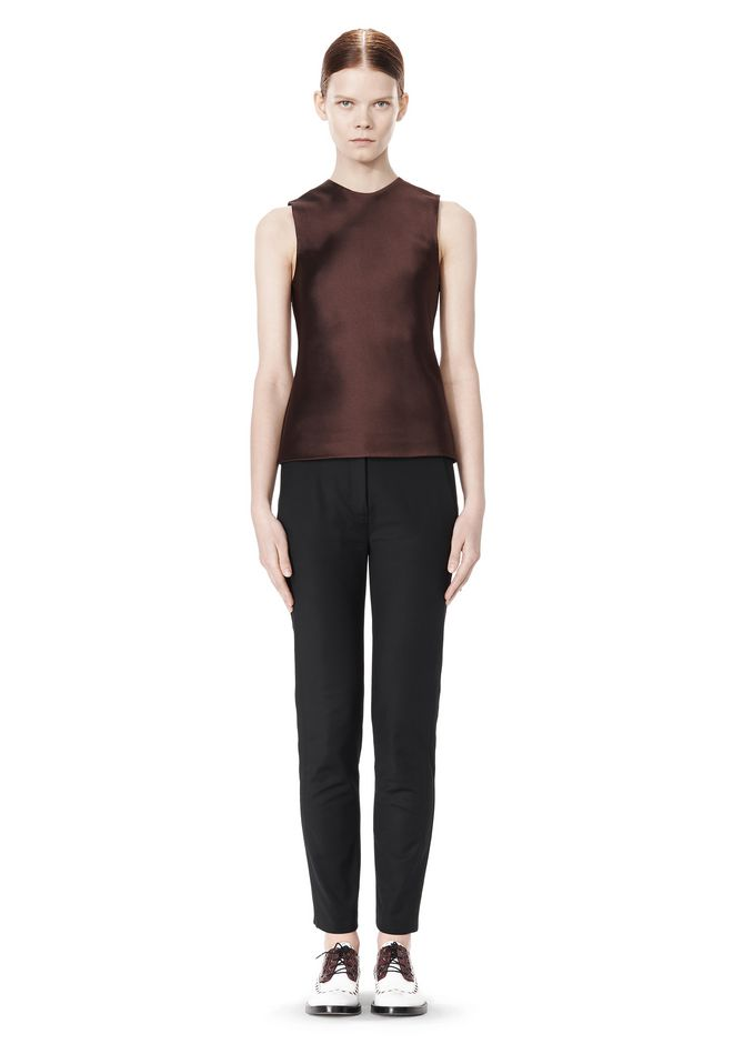 ALEXANDER WANG SKINNY PANT WITH SIDE SEAM DETAIL
