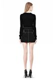 ALEXANDER WANG MINI SKIRT WITH CONTRAST STITCHING SKIRT Adult 8_n_r