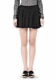 ALEXANDER WANG VACUUM PRESSED IRREGULAR SEAM MINI SKIRT SKIRT Adult 8_n_d