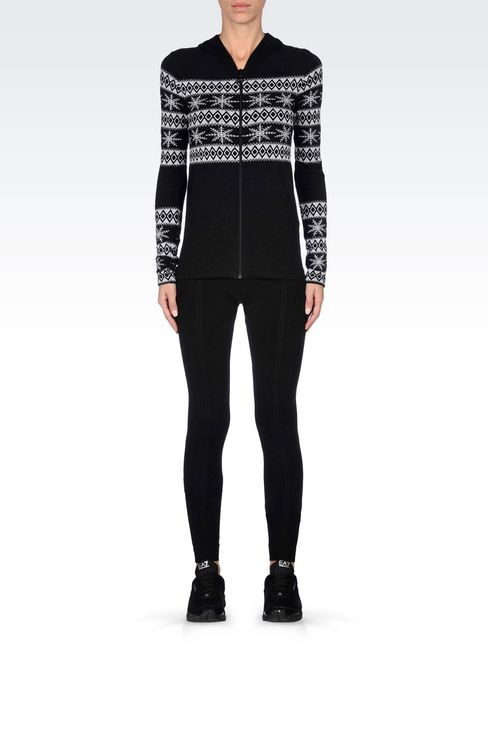 LONG LEGGINGS WITH LOGO: Leggings Women by Armani - 2