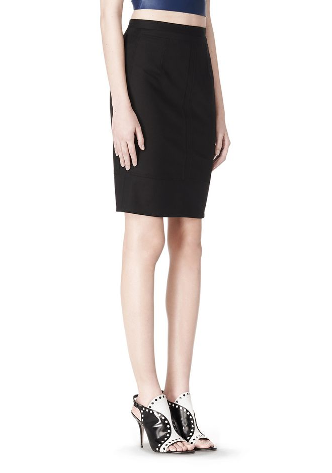 ALEXANDER WANG HIGHWAISTED PENCIL SKIRT  SKIRT Adult 12_n_a