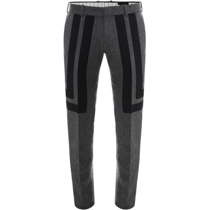 Alexander McQueen, Geometric Flannel Trousers