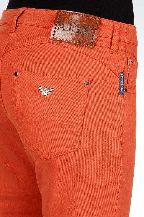 SLIM FIT FLARE VINTAGE LOOK JEANS: Jeans Women by Armani - 5