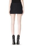 ALEXANDER WANG CROPPED SKIRT WITH DISTRESSED DETAIL SKIRT Adult 8_n_a
