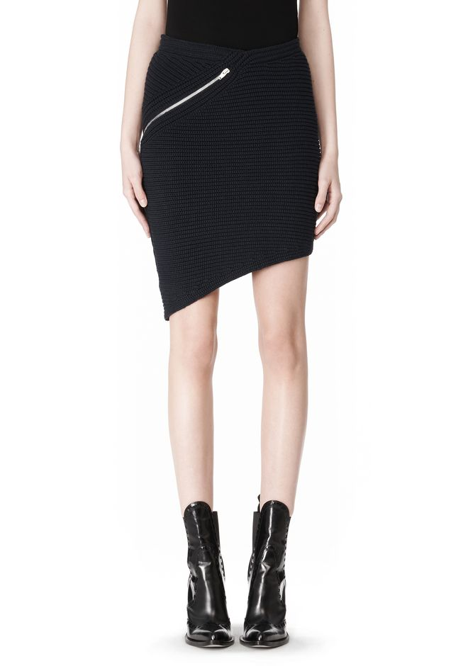 ALEXANDER WANG ZIP PEEL AWAY SKIRT SKIRT Adult 12_n_e