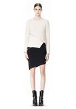 ALEXANDER WANG ZIP PEEL AWAY SKIRT SKIRT Adult 8_n_f