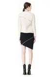 ALEXANDER WANG ZIP PEEL AWAY SKIRT SKIRT Adult 8_n_r
