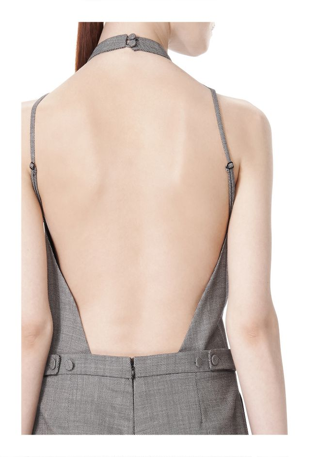 ALEXANDER WANG BACKLESS ROMPER  Long dress Adult 12_n_a