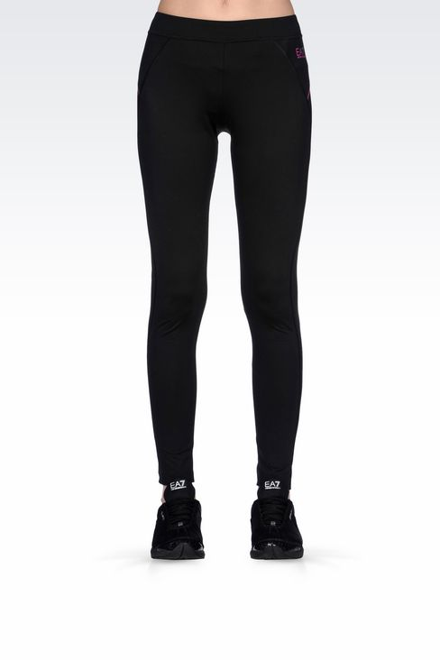 COMPRESSION LEGGINGS IN TECHNICAL FABRIC: Leggings Women by Armani - 3