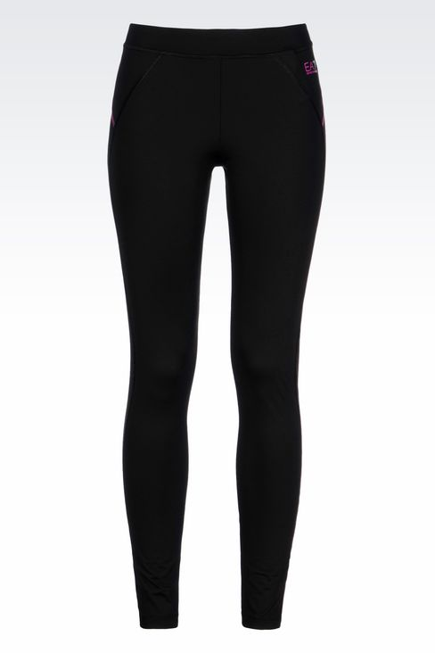 COMPRESSION LEGGINGS IN TECHNICAL FABRIC: Leggings Women by Armani - 1