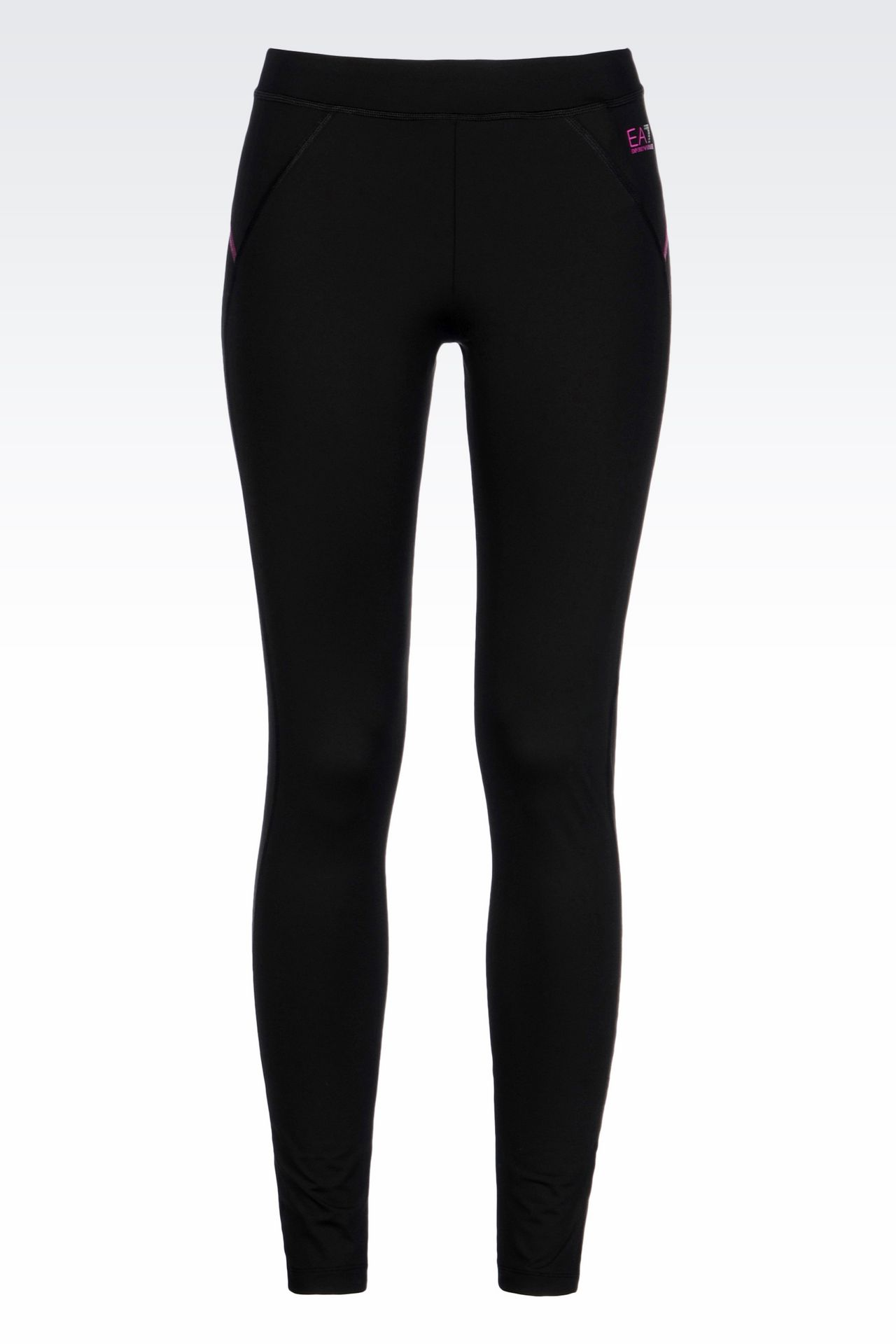 COMPRESSION LEGGINGS IN TECHNICAL FABRIC: Leggings Women by Armani - 0