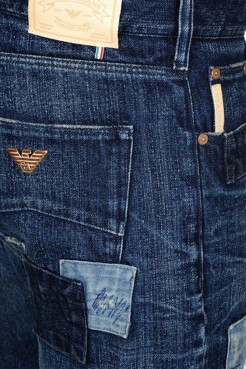 armani jeans men dark wash anti fit jeans. Black Bedroom Furniture Sets. Home Design Ideas