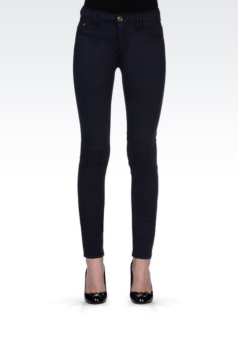 JEGGINGS IN MODAL AND LYOCELL: Jeans Women by Armani - 3