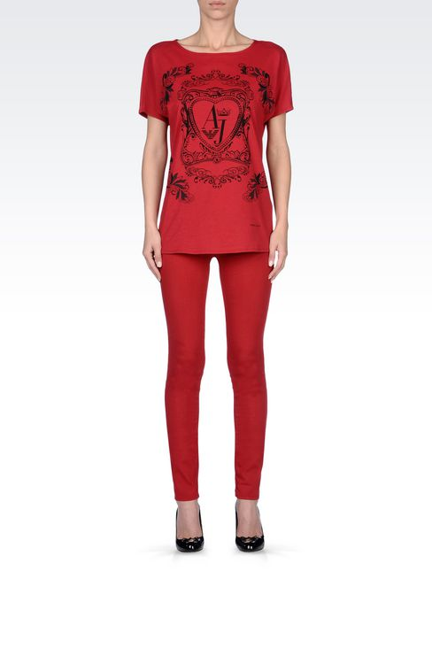 JEGGINGS IN MODAL AND LYOCELL: Jeans Women by Armani - 2
