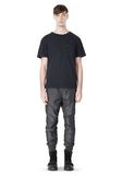 T by ALEXANDER WANG MELANGE DOBBY NYLON TRACKPANTS PANTS Adult 8_n_f